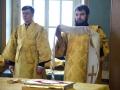 10 декабря 2017 г., в неделю 28-ю по Пятидесятнице, епископ Силуан совершил литургию в Макарьевском монастыре