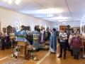 15 февраля 2017 г., в праздник Сретения Господня, епископ Силуан совершил Литургию в Преображенском храме села Спасское