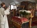 7 апреля 2018 г., в Великую Субботу и праздник Благовещения Пресвятой Богородицы, епископ Силуан совершил литургию в Макарьевском монастыре