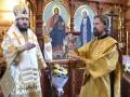 13 декабря 2017 г., в день памяти апостола Андрея Первозванного, епископ Силуан совершил литургию в Крестовоздвиженском храме села Чернуха