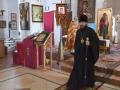 10 апреля 2018 г., во вторник Светлой седмицы, епископ Силуан совершил литургию в Казанском храме при ИК-16 села Просек