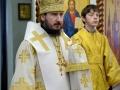1 января 2017 г., в неделю 28-ю по Пятидесятнице, пред Рождеством Христовым, святых отец, епископ Силуан совершил Литургию в Макарьевском монастыре