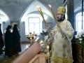 12 февраля 2017 г., в неделю о блудном сыне, епископ Силуан совершил Литургию в Макарьевском монастыре