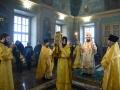 31 декабря 2017 г., в неделю 30-ю по Пятидесятнице, святых отец, епископ Силуан совершил литургию в Макарьевском монастыре