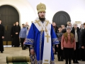 19 февраля 2017 г., в неделю о Страшном Суде, епископ Силуан совершил Литургию в Троице-Сергиевом Варницком монастыре