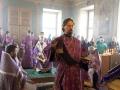 5 апреля 2018 г., в Великий Четверг, епископ Силуан совершил литургию с чином умовения ног в Макарьевском монастыре