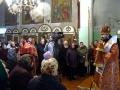 17 апреля 2017 г., в понедельник Светлой седмицы, епископ Силуан совершил литургию в Георгиевском храме города Лысково