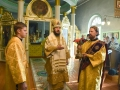7 октября 2018 г., в неделю 19-ю по Пятидесятнице, епископ Силуан совершил литургию в Георгиевском храме города Лысково