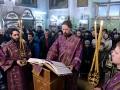 19 марта 2017 г., в неделю 3-ю Великого поста, Крестопоклонную, епископ Силуан совершил Литургию в Георгиевском храме города Лысково