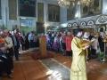 10 сентября 2017 г., в неделю 14-ю по Пятидесятнице, епископ Силуан совершил литургию в Георгиевском храме города Лысково