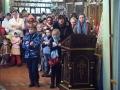 5 ноября 2017 г., в неделю 22-ю по Пятидесятнице, епископ Силуан совершил литургию в Георгиевском храме города Лысково