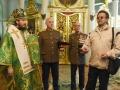 28 мая 2018 г., в день Святого Духа, епископ Силуан совершил литургию в Георгиевском храме города Лысково