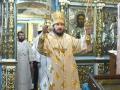 11 ноября 2017 г., в неделю 23-ю по Пятидесятнице, епископ Силуан совершил вечернее богослужение в Казанском храме города Лысково