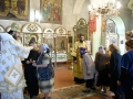 10 июня 2017 г., в неделю 1-ю по Пятидесятнице, всех святых, епископ Силуан совершил вечернее богослужение в Георгиевском храме города Лысково