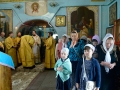 11 июля 2017 г., в день памяти первоверховных апостолов Петра и Павла, епископ Силуан совершил вечернее богослужение в Казанском храме города Лысково
