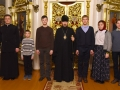 10 ноября 2018 г. епископ Силуан встретился со школьниками в городе Лысково