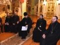 15 декабря 2018 г. епископ Силуан встретился с прихожанами Георгиевского храма в городе Лысково и их детьми