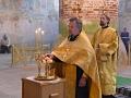 4 августа 2018 г. епископ Силуан совершил всеношное бдение в Троицком соборе Макарьевского Желтоводского монастыря