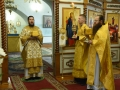 29 сентября 2018 г., в день памяти мученицы Людмилы Чешской, епископ Силуан совершил литургию в Макарьевском монастыре