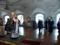 15 апреля 2017 г., в Великую Субботу, епископ Силуан совершил вечерню с Литургией в Макарьевском монастыре