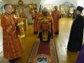 10 сентября 2018 г. епископ Силуан совершил вечернее богослужение в Макарьевском монастыре