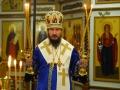 27 августа 2018 г. епископ  Силуан совершил вечернее богослужение в Успенском храме Макарьевского Желтоводского монастыря