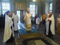 21 июля 2018 г. епископ Силуан совершил всенощное в Макарьевском монастыре