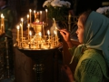24 июля 2014 г., день памяти преподобного Михаила Малеинá, епископ Силуан совершил всенощное бдение в Троицком храме Макарьевского монастыря.