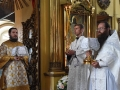 21 июля 2018 г. епископ Силуан совершил Божественную литургию в Казанском храме села Макарьево Лысковского района