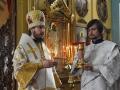 221 июля 2018 г. епископ Силуан совершил Божественную литургию в Казанском храме села Макарьево Лысковского района