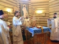 19 января 2018 г., в праздник Богоявления, епископ Силуан совершил литургию в Крестовоздвиженском монастыре поселка Красные Мары