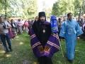25 августа 2018 г. епископ Силуан совершил литургию в Крестовоздвиженской обители в селе Красные Мары