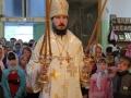 31 августа 2014 г.  в храме в честь великомученика и Победоносца Георгия г. Лысково епископ Силуан совершил Божественную литургию.