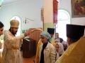 31 августа 2014 г. в храме в честь великомученика и Победоносца Георгия г. Лысково епископ Силуан отслужил молебен на начало учебного года.