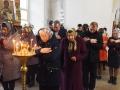 22 апреля 2018 г., в неделю 3-ю по Пасхе, святых жен-мироносиц, епископ Силуан совершил литургию в Троицком храме села Большое Мурашкино