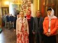 14 июня 2017 г. в храме Нижегородской духовной семинарии была совершена праздничная Божественная литургия