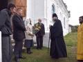 9 октября 2017 г., в день памяти апостола Иоанна Богослова, епископ Силуан совершил литургию в селе Огнев Майдан