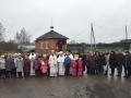 12 ноября 2017 г., в неделю 23-ю по Пятидесятнице, епископ Силуан совершил освящение храма в селе Березовый Майдан