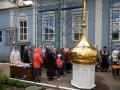 26 июня 2014 г. в селе Сеченово состоялось освящение крестов и куполов храма в честь Владимирской иконы Божией Матери.