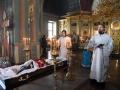 6 февраля 2018 г. епископ Силуан совершил отпевание и погребение своего отца Евгения Глазкина