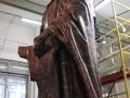 В завершающую стадию строительства входит изготовление памятника преподобному Макарию Желтоводскому