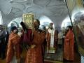 В ночь с 15 на 16 апреля 2017 г. в Макарьевском монастыре прошло пасхальное богослужение