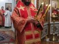 20 апреля 2014 г., в день Пасхи Христовой, епископ Силуан совершил богослужение в Успенском храме Свято-Троицкого Макарьевского Желтоводского женского монастыря.