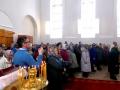 26 марта 2016 г. в восстанавливающемся храме с. Покров-Майдан Воротынского района была совершена Божественная литургия.