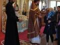 30 сентября 2017 г. в приходе Казанской церкви Первомайска освящена новая храмовая икона святых мучениц Веры, Надежды, Любови и матери их Софии