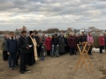 21 октября 2018 г.  на строительной площадке нового храма города Первомайска