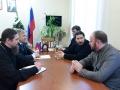 19 декабря 2017 г. епископ Силуан встретился с главой Пильнинского района Виктором Козловым