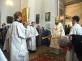 1 октября 2017 г., в неделю 17-ю по Пятидесятнице, епископ Силуан совершил литургию во Всехсвятском храме села Починки