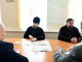 1 октября 2017 г. епископ Силуан встретился с главой администрации Починковского района Михаилом Лариным