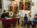 6 июля 2018 г. епископ Силуан встретился с учениками воскресной школы села Починки